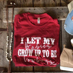 Load image into Gallery viewer, Cowboy Babies Cardinal tee