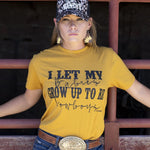 Load image into Gallery viewer, Cowboy Babies Mustard Tee