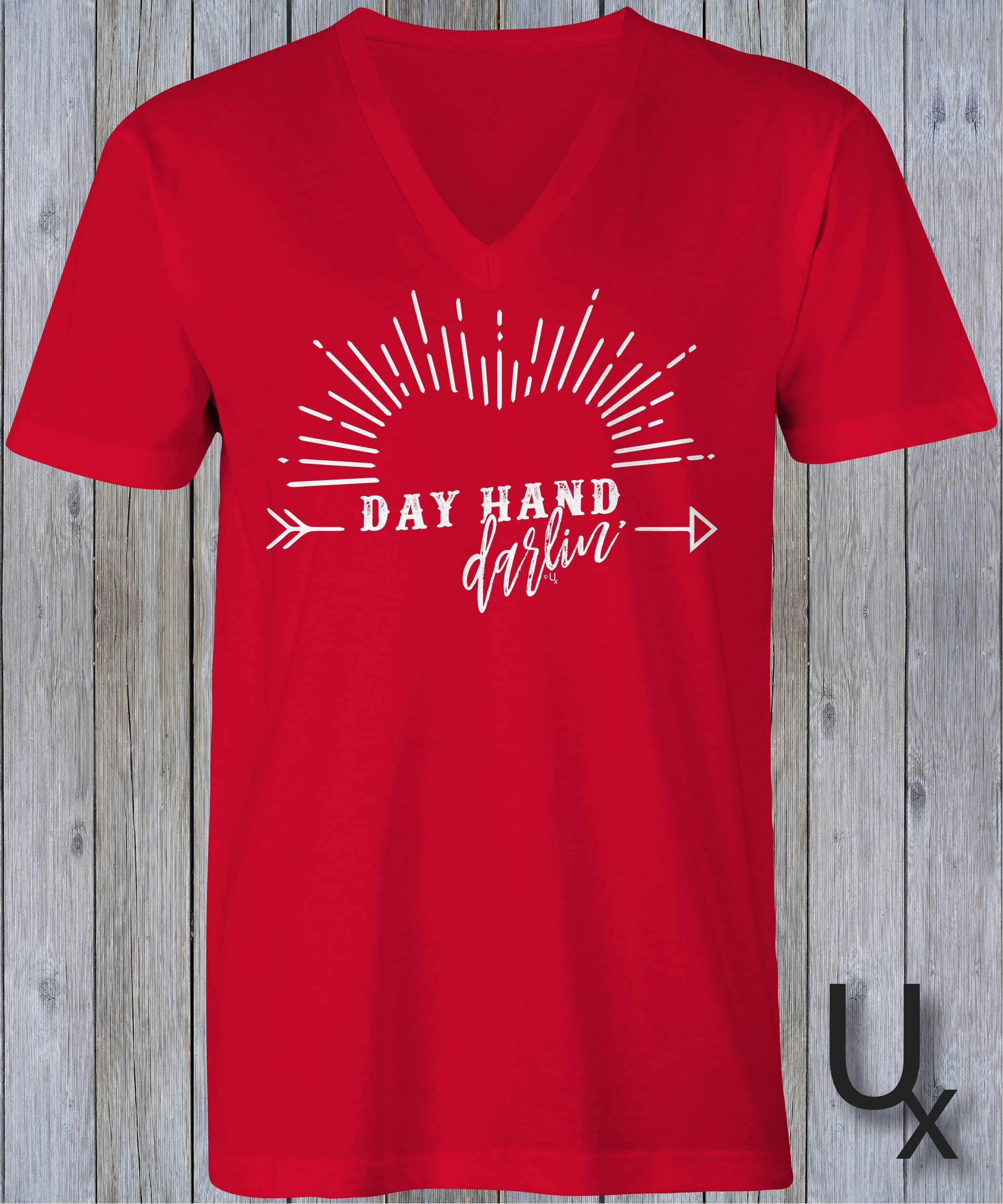 Day Hand Darlin tee - RED