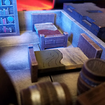 bunks beds for dungeons & dragons scenery terrain