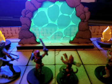 stone portal for dungeons and dragons