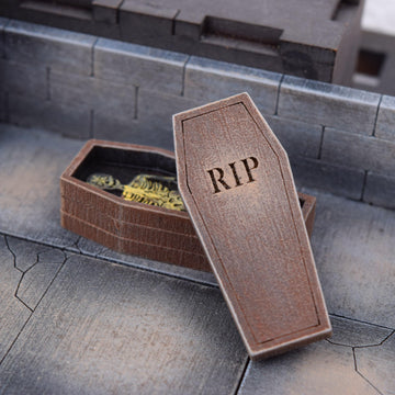 coffins and caskets for dungeons & dragons terrain scenery