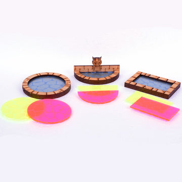 miniature fountains and pools for dungeons and dragons tabletop rpg gaming