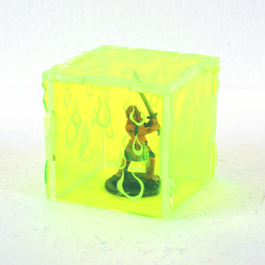 gelatinous cube mini for tabletop rpg