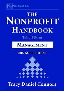 The Nonprofit Handbook: Management, 2002 Supplement,