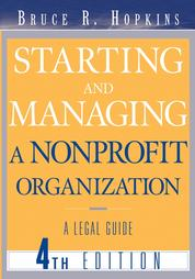 Starting and Managing a Nonprofit