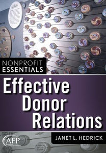 Nonprofit Essentials: Effective Donor Relations