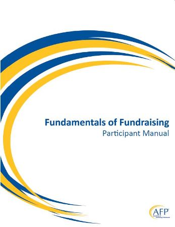 AFP Fundamentals of Fundraising Course Participants Manual