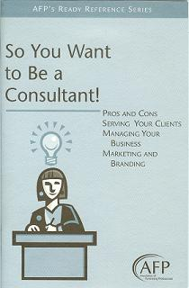 So You Want to be a Consultant!