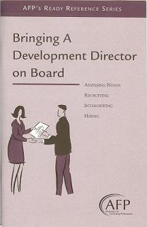 Bringing a Development Director on Board