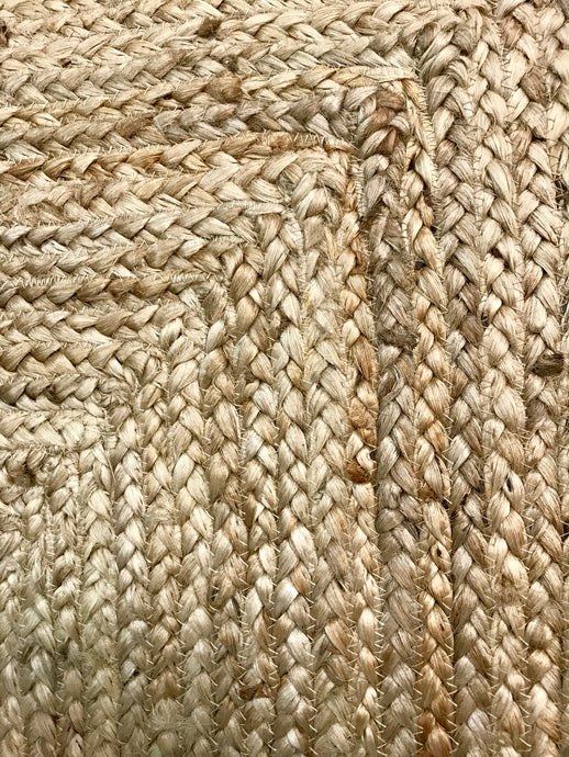 JUTE RUG - RECTANGLE BRAIDED
