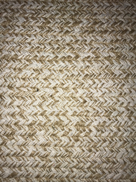 JUTE RUG - COTTON/JUTE BRAIDED