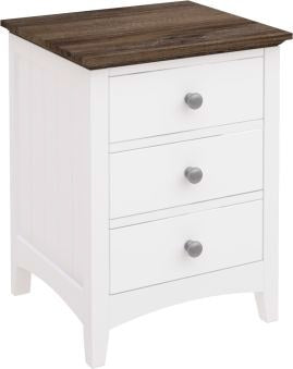 BRITTANY BEDSIDE 3 DRAWER