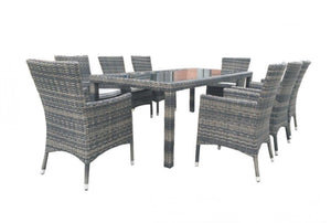 MILLER 9PC DINING SETTING