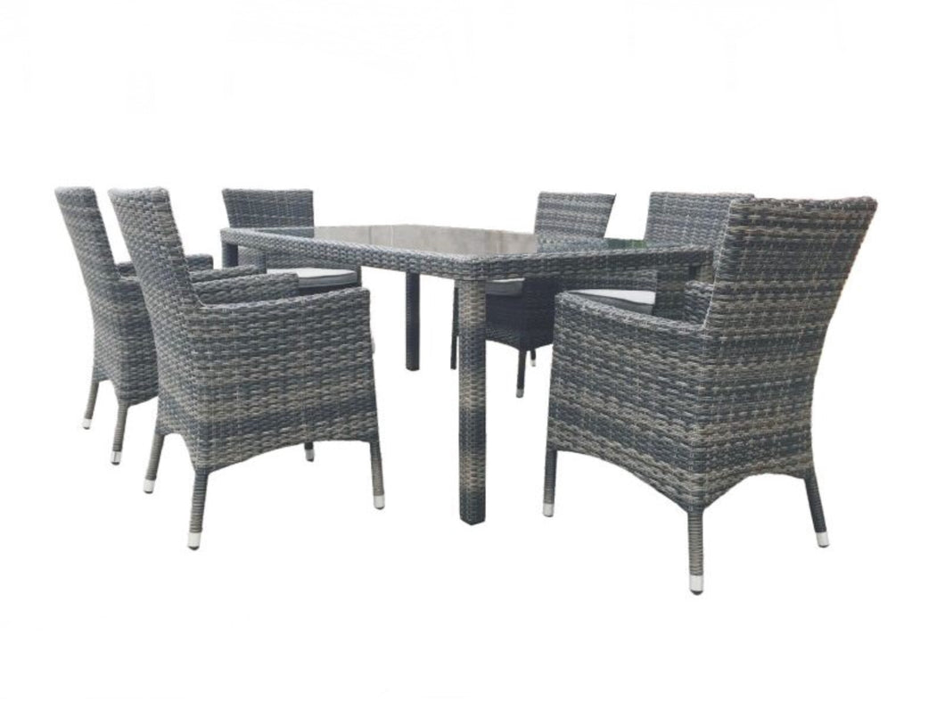 MILLER 7PC DINING SETTING