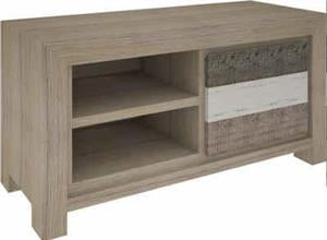 CHATEAU TV UNIT SML 2 DRWS