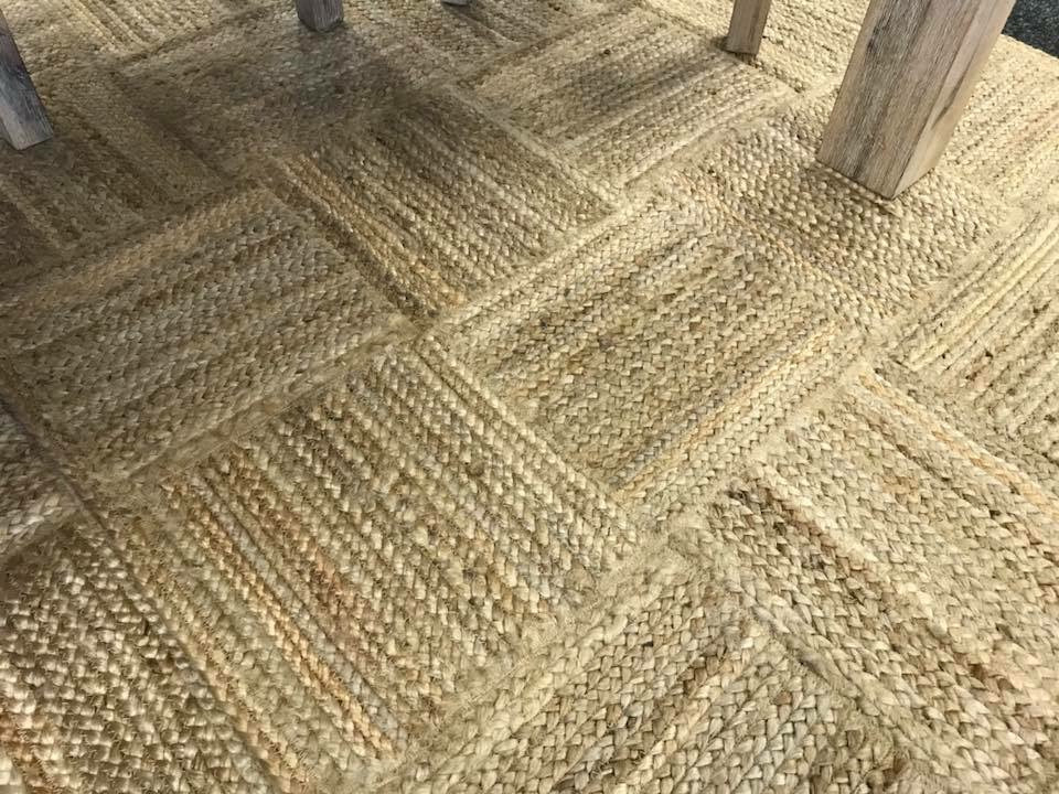 JUTE RUG - PATCH BRAIDED