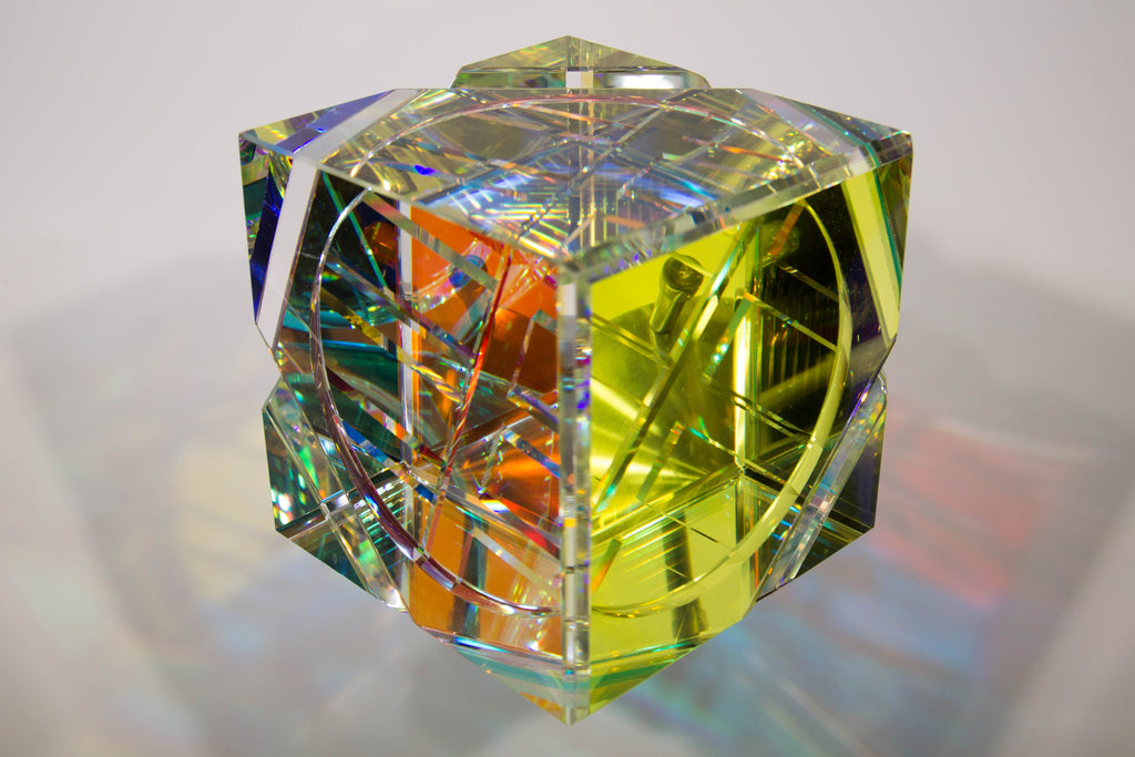 owain cube optical crystal sculpture by glass sculptor jack storms-7