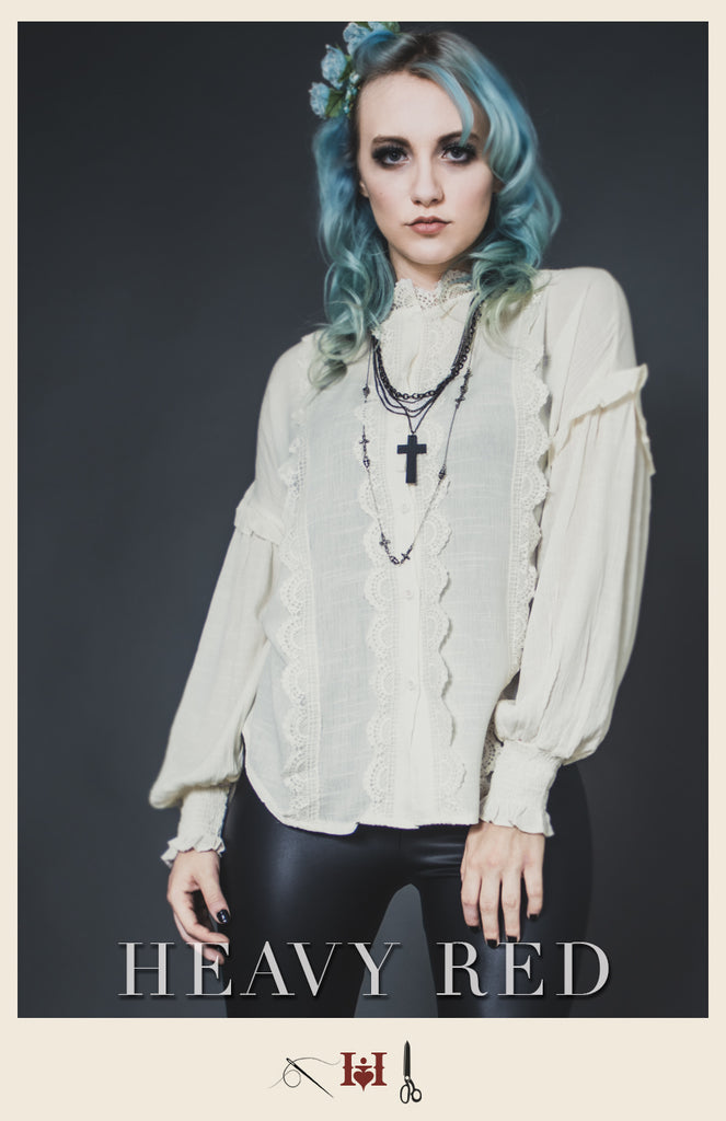 Anachronistic Tendencies Cream Shirt