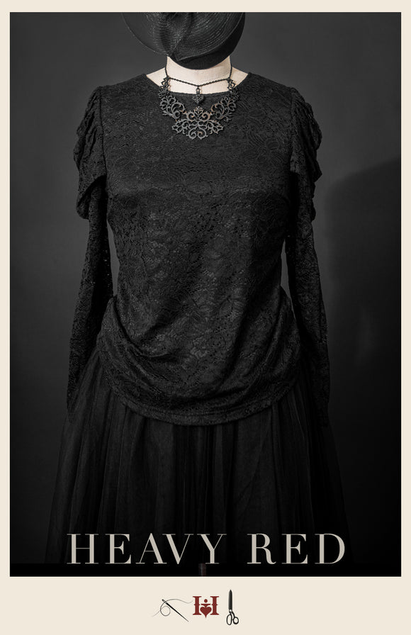 Sorrows Avarice Lace shirt