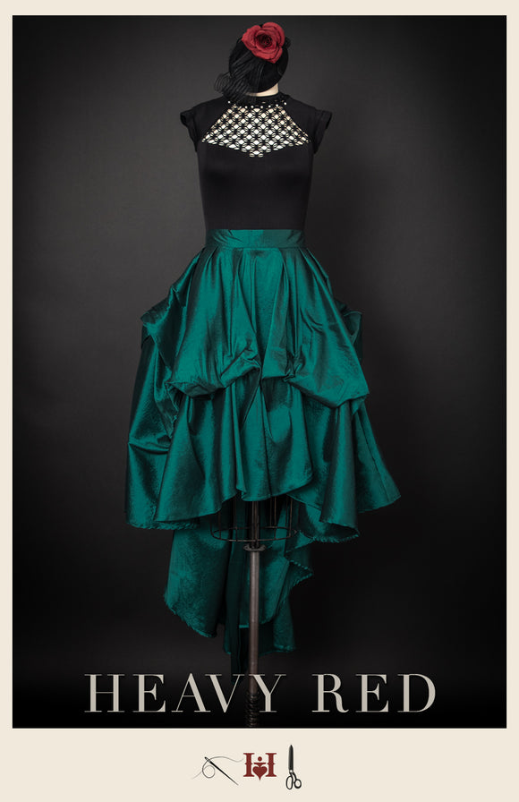 Emerald Lady Tiered Skirt