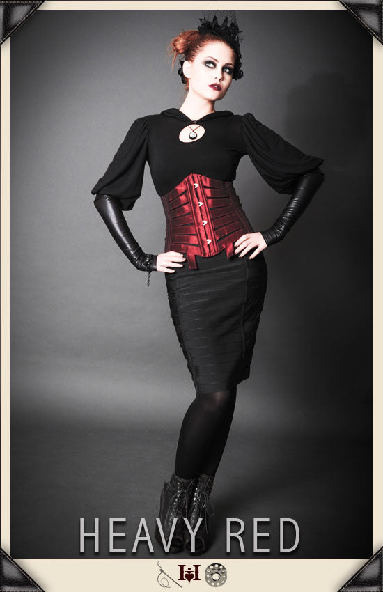 Assiduous Devotion Rouge Vintage Corset