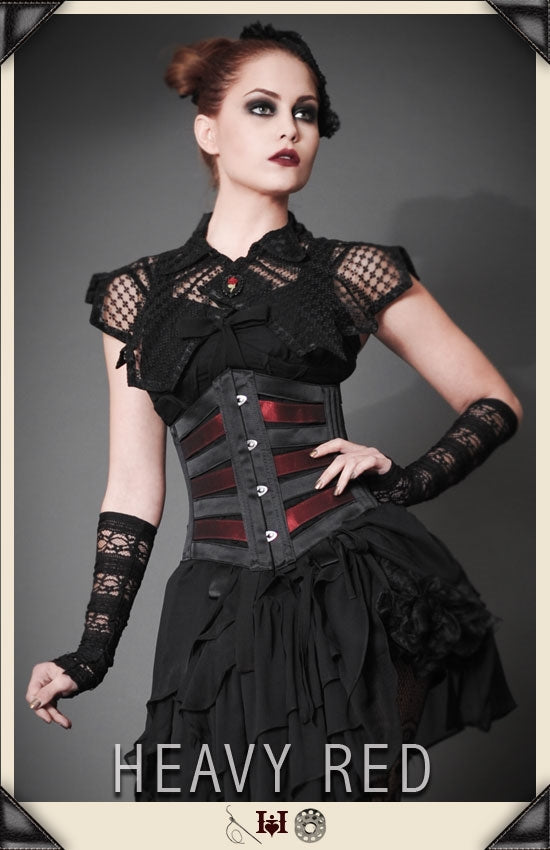 Vacivity Blood & Black Vintage Corset