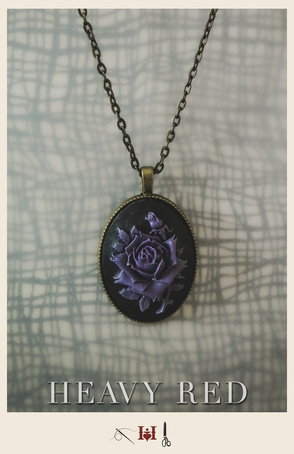 Purple Rose Wicked Cameo