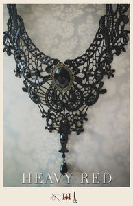 Evocative Aristocracy Lace Necklace
