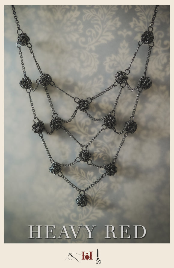 Abstruse Web Necklace