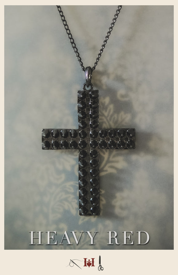 Spicate Cross Necklace