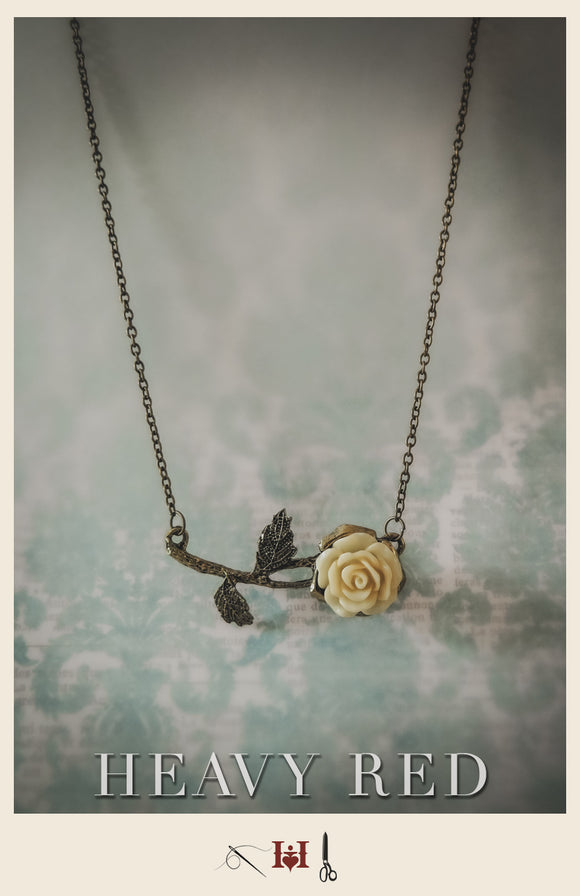 Alice's Vintage Rose Necklace