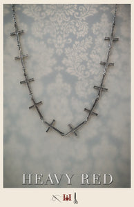Penitence Cross Necklace