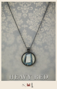 Guillotine Picture Necklace