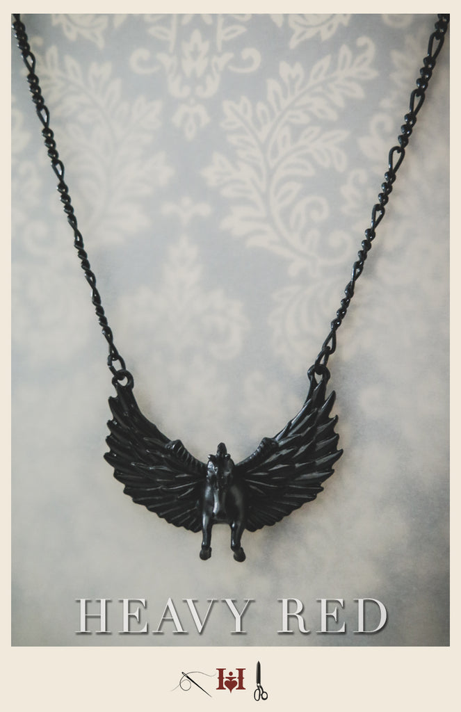 Pegasus Noir Necklace