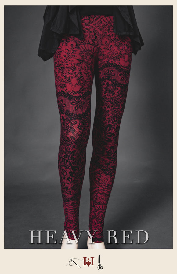 Blood & Lace Winter Leggings