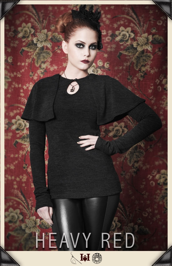 Limerence Caped Shirt Fall