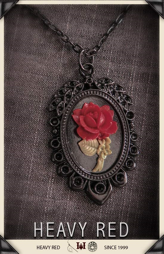 Clandestine Affair Red Rose Cameo