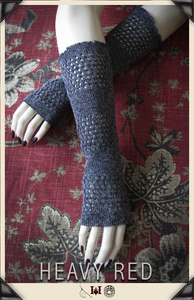 Grey Days Sweater Gloves