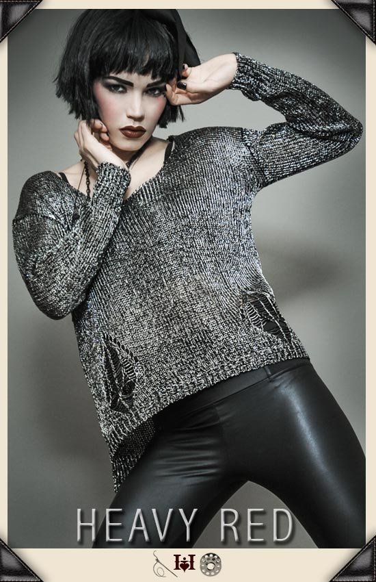Tarnished Nature Knit Sweater