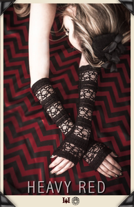 Black Celebration Lace Gloves