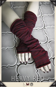 Fractured Love Sweater Gloves