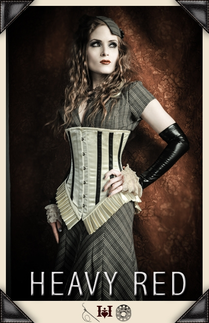 Lost In Whimsy Antique Corset