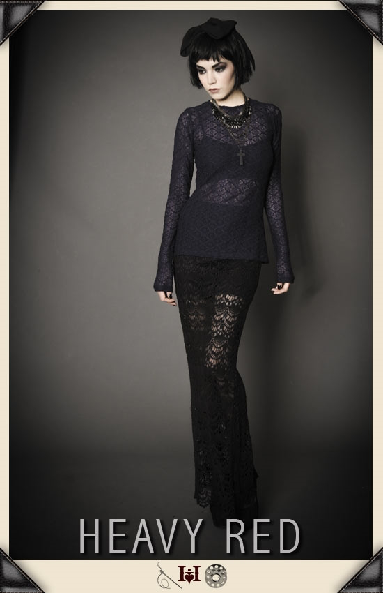 Decadence Of Lace Skirt