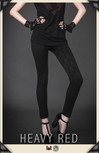 Nefarious Damask Leggings