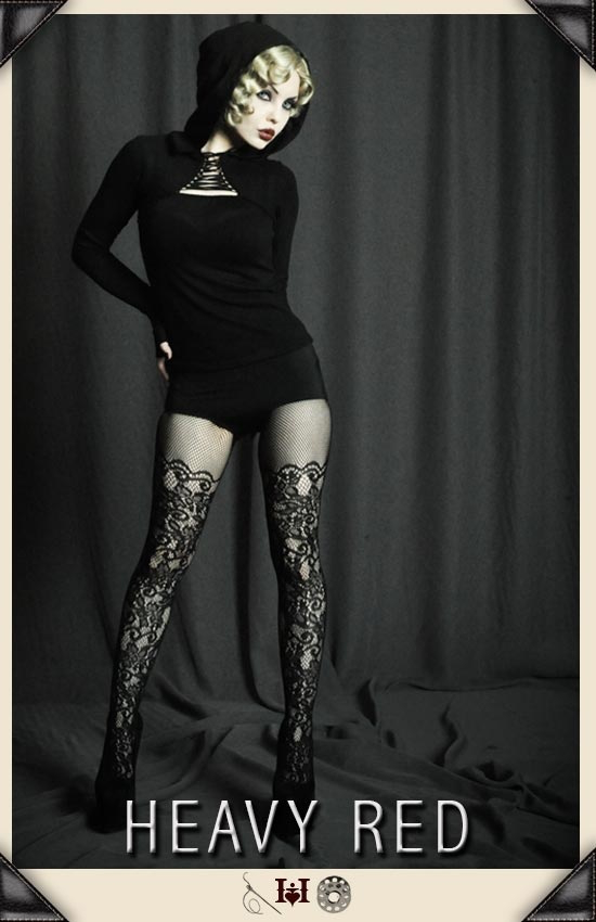 Delectably Charming Lace Stockings