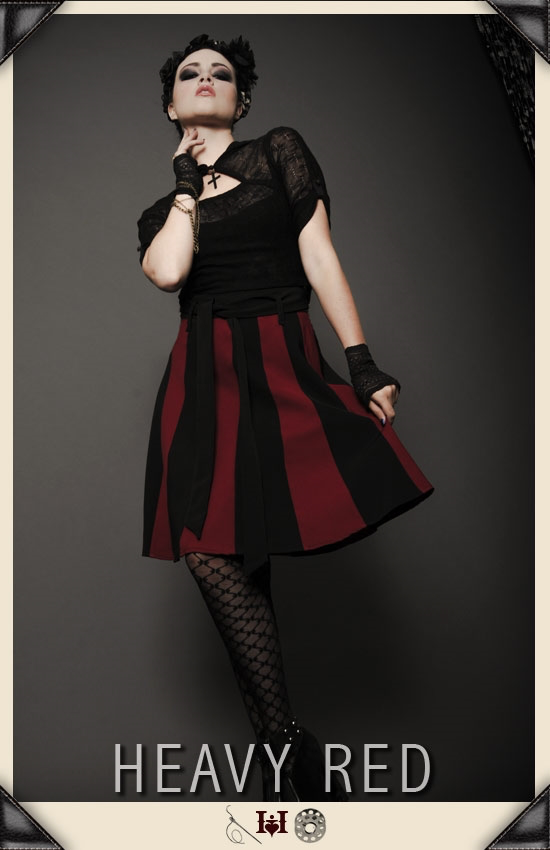 Rue Morgue Striation Skirt
