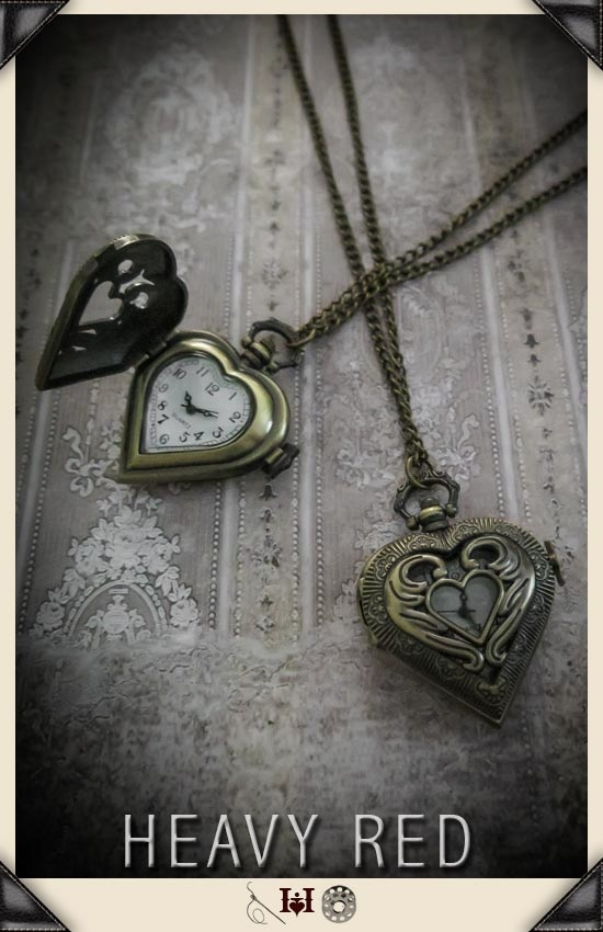 Immortal Relic Heart Pocket Watch