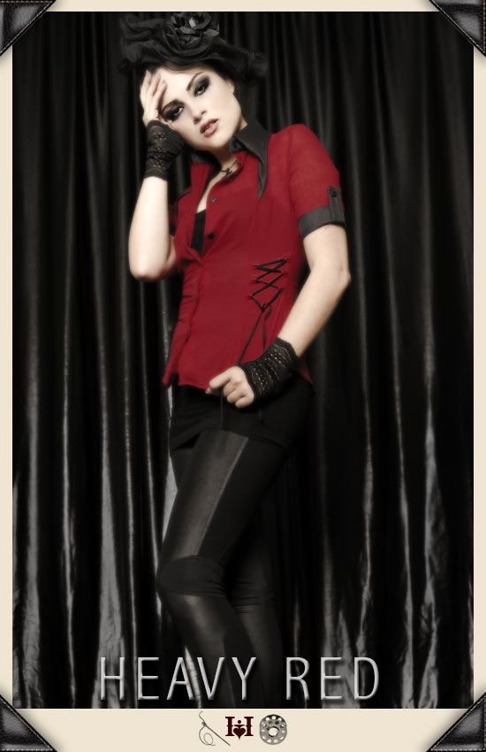 Deadly Flirtations Corset Shirt