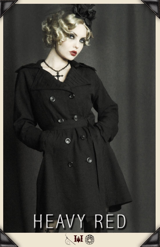Dark City Trench Coat
